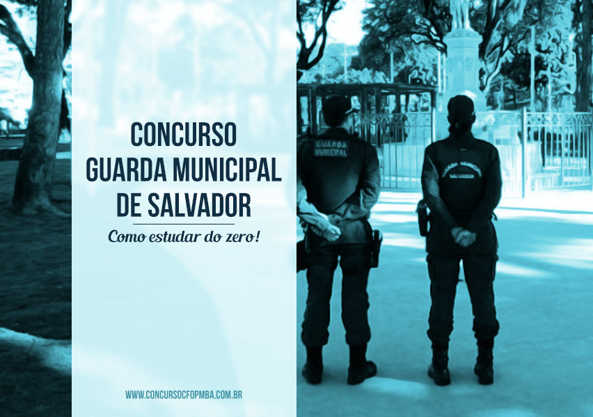 Concurso Guarda Municipal de Salvador